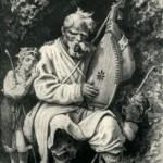 Кобзар пан-отець Самійло Яшний (90 років). О.Сластіон, 1903.