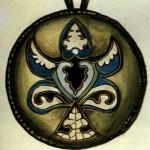 Золотий емалевий медальйон з Крилоса (Галича). ХІІ ст.