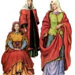 Типи жіночого князівського костюма часів Київської Русі.