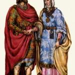 Тип боярського вбрання періоду Київської Русі.