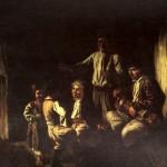 Лірник у хаті. К.Трутовський, XIX ст.