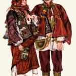 Традиційне народне вбрання. Гуцульщина.