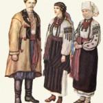 Традиційний народний одяг. Вінничина.