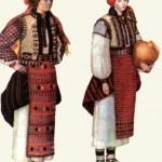 Дівоче святкове вбрання та традиційний жіночий костюм. Івано-Франківщина.