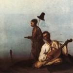 Кобзар на шляху. Л.Жемчужников, 1854.