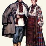 Традиційний народний одяг. Волинь.
