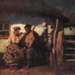 Під хатою. С.Васильківський, XIX ст.