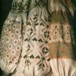 Сорочки жіночі. Фрагмент. (Домоткане полотно, заполоч, пиштва, вирізування). Полтавщина, XIX ст.