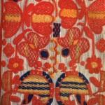 Рушник. Фрагмент. (Фабричне полотно, бавовняні нитки, рушниковий шов). Київщина, XIX ст.