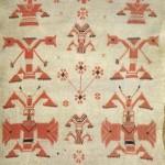 Рушник. Фрагмент. (Полотно, лляна нитка, хрестик). Чернігівщина, XIX ст.