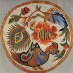 Наволочка. (Шовк, муліне, гладь). Г.Ф.Собачко, Київ, 1948.
