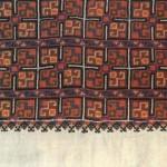 Сорочка жіноча. Фрагмент. (Полотно, муліне, хрестик). Чернівецька обл., 1950.