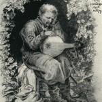 Кобзар Петро Неховайзуб. О.Сластіон, 1875.