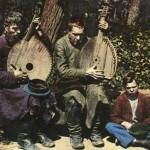 Кобзарі Кравченко (Полтавщина) та Дремченко (Харківщина). Листівка, 1913.