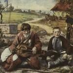 Лірник Тиміш (Полтавщина). Фото початку XX ст.