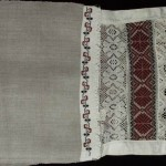 Рушник тканий. Початок ХХ ст., с. Бехи Коростенського р-ну. УЦНК