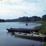 Десна в с. Вишеньки, Чернігівщина. Слайд М.Селівачова, 1973