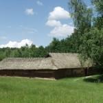 Садиба заможного селянина із Волинського Полісся. (