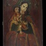 Божа Матір з Немовлям. м. Бородянка. Кінець ХІХ ст. 40 х 30 см. УЦНК