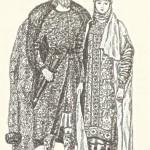 Костюм древньоруських князя та княгині