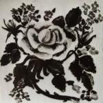 С.В.Сарцевич. Фрагмент настінного розпису в будинку-майстерні. Власник фотографії - Найден О.С.