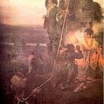 """Г.Крушевський. """"Тривога"""". Олія. 1899"""