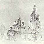 Т.Шевченко. Межигірський монастир