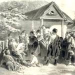 """К.Трутовський """"Пісня Бандуриста"""" Літографія 1874"""