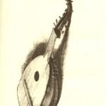 Запорізька кобза. Мал. І. Рєпіна