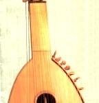 Торбан. XVII ст. Фото з буклету Київського кобзарського цеху
