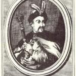 """Бонаціна. Юрась Хмельниченко. Гравюра на металі. (З книги """"Історії Леопольдо Цезаре"""", Рим, 1670)"""
