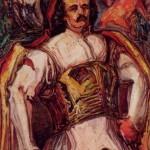"""О.Х.Новаківський """"Довбуш"""". Ескіз. 1931"""