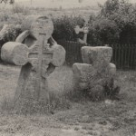 Козацькі кам'яні хрести на кладовищі біля Ілінської церкви Богдана Хмельницького в с. Суботові поблизу Чигирина