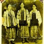 Дівчата з В. Сорочинець. Фото 1922 р.