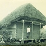 Комора селянина з центральної Полтавщини. Фото 1930 р.