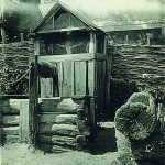 Криниця з капличкою в с. Стецівка, кол. Сумської округи. 1929 рік.
