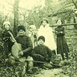 Мандрівний кобзар в Полтаві. Початок ХХ ст.