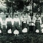 Мешканці м. Городенки. Фото 1905 р.