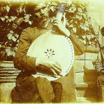 Молодий кобзар, художник та поет Никонор Онацький. 1910.