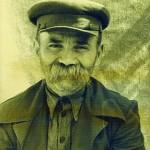 Народний типаж - Федір Пучка з м. Лубен на Полтавщині. Фото 1920 р.