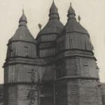 П'ятибанна дерев'яна с. Успенська церква 18 ст.