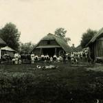 Садиба заможного селянина Чорнокожі. Фото 1933 р.