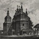 Військовий дерев'яний шести банний козацький Покровський собор побудований запоріжцями 1972 р. на Кубані